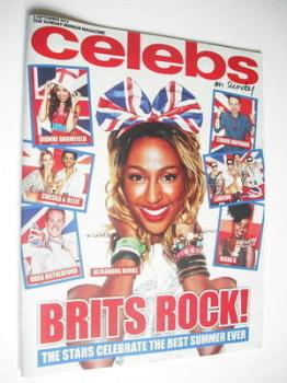 Celebs magazine - Alexandra Burke cover (2 September 2012)