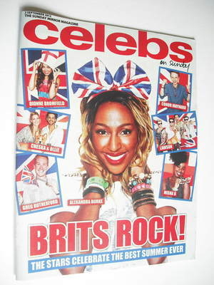 <!--2012-09-02-->Celebs magazine - Alexandra Burke cover (2 September 2012)