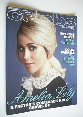 <!--2012-08-26-->Celebs magazine - Amelia Lily cover (26 August 2012)