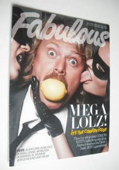 Fabulous magazine - Keith Lemon cover (12 August 2012)