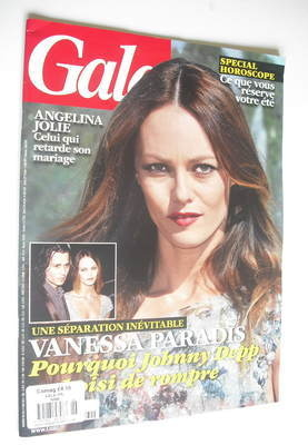Gala magazine - Vanessa Paradis cover (27 June 2012)
