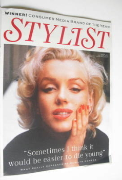 Stylist magazine - Issue 134 - Marilyn Monroe cover