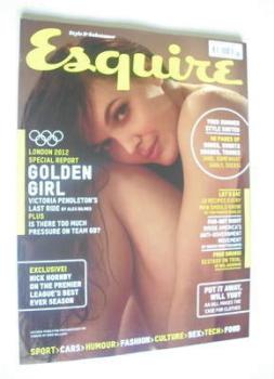 Esquire magazine - Victoria Pendleton cover (August 2012)