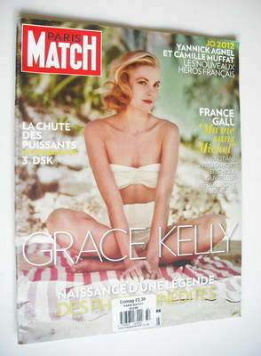 <!--2012-08-02-->Paris Match magazine - 2 August 2012 - Grace Kelly cover