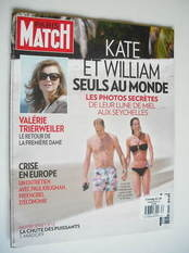 Paris Match magazine - 19 July 2012 - Prince William & Kate Middleton cover