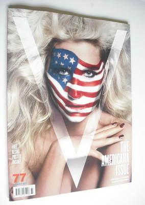 <!--2012-08-->V magazine - Summer 2012 - Ke$ha cover