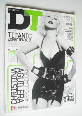 DTLUX magazine - Christina Aguilera cover (Issue 184)