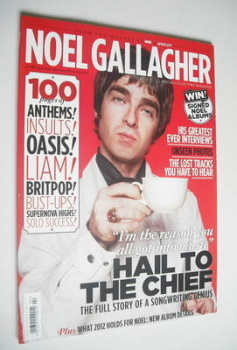 Uncut Special Edition magazine - Noel Gallagher cover (Summer 2012)