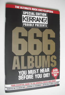 <!--2012-01-01-->Kerrang magazine - 666 Albums You Must Hear Before You Die