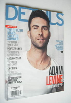 Details magazine - June 2012 - Adam Levine cover