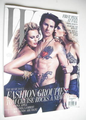<!--2012-06-->W magazine - June 2012 - Tom Cruise cover