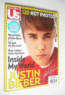 <!--2012-08-->US Weekly magazine - Justin Bieber Collector's Edition (Summe