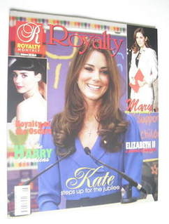 Royalty Monthly magazine - Kate Middleton cover (Vol.22 No.6)