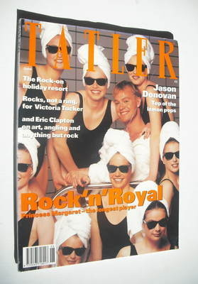 <!--1992-06-->Tatler magazine - June 1992 - Jason Donovan and Ladies cover
