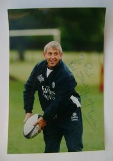 Ian McGeechan autograph