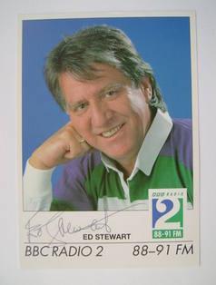 Ed Stewart autograph
