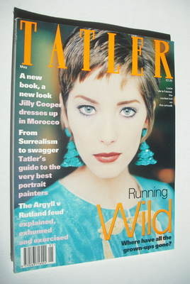 <!--1993-05-->Tatler magazine - May 1993 - Lucie de la Falaise cover