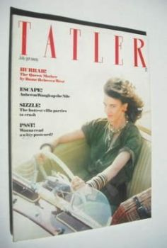 Tatler magazine - July 1980