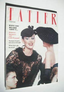 <!--1980-06-->Tatler magazine - June 1980