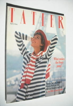 Tatler magazine - April 1980