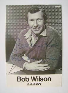 Bob Wilson autograph