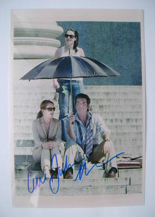 Julianne Moore autograph
