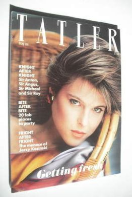 <!--1982-05-->Tatler magazine - May 1982 - Catherine Oxenberg cover