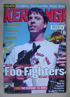 <!--1999-09-18-->Kerrang magazine - Dave Grohl cover (18 September 1999 - I