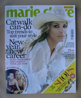 <!--2007-02-->British Marie Claire magazine - February 2007 - Sandra Bulloc