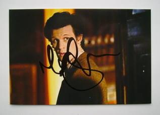 Matt Smith autograph