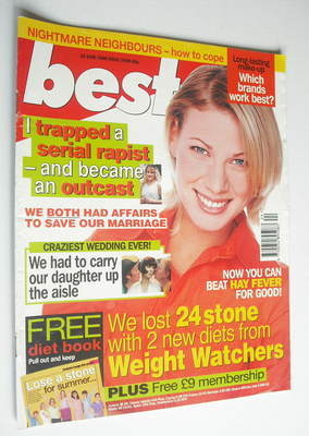 <!--1998-06-16-->Best magazine - 16 June 1998