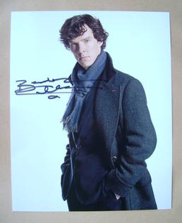 Benedict Cumberbatch autograph (hand-signed photograph)