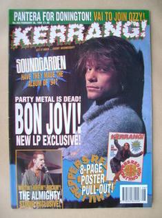 <!--1994-02-26-->Kerrang magazine - Jon Bon Jovi cover (26 February 1994 -