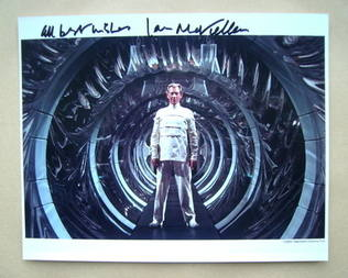 Ian McKellen autograph