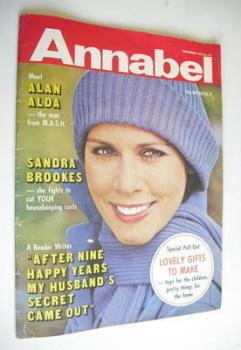 Annabel magazine - November 1975
