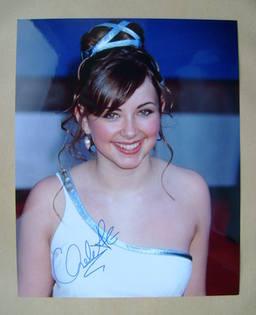 Charlotte Church autograph