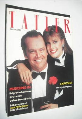 <!--1981-05-->Tatler magazine - May 1981 - Jack Nicholson cover