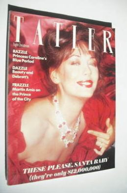 <!--1981-12-->Tatler magazine - December 1981 - Lesley-Anne Down cover
