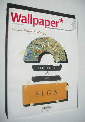 <!--2004-07-->Wallpaper magazine (Issue 70 - July/August 2004)