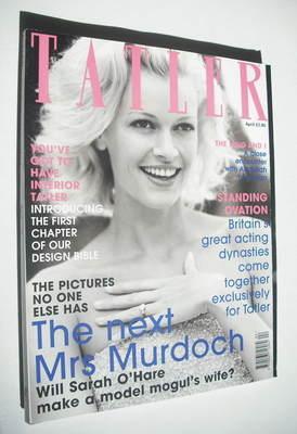 <!--1999-04-->Tatler magazine - April 1999 - Sarah O'Hare cover