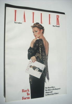 Tatler magazine - November 1979