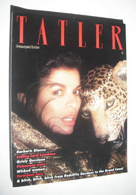 <!--1980-10-->Tatler magazine - October 1980 - Bianca Jagger cover
