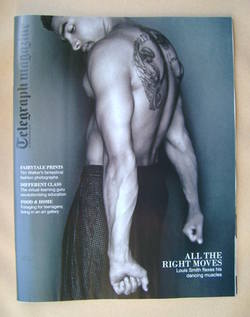 <!--2012-09-29-->Telegraph magazine - Louis Smith cover (29 September 2012)