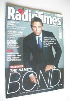 <!--2006-11-11-->Radio Times magazine - Daniel Craig cover (11-17 November 2006)