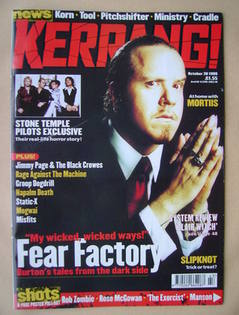 <!--1999-10-30-->Kerrang magazine - Burton C Bell cover (30 October 1999 -