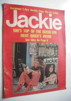Jackie magazine - 29 July 1972 (Issue 447)