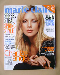 <!--2006-03-->British Marie Claire magazine - March 2006 - Charlize Theron