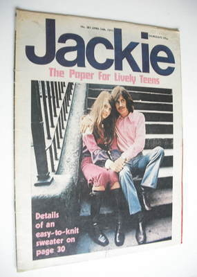 <!--1971-04-24-->Jackie magazine - 24 April 1971 (Issue 381)