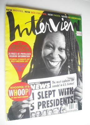 <!--1992-06-->Interview magazine - June 1992 - Whoopi Goldberg cover