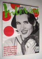 <!--1992-03-->Interview magazine - March 1992 - Geena Davis cover